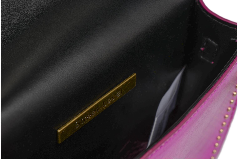 Handtaschen Street Level Mettalic chainstrap crossbody rosa ansicht von hinten