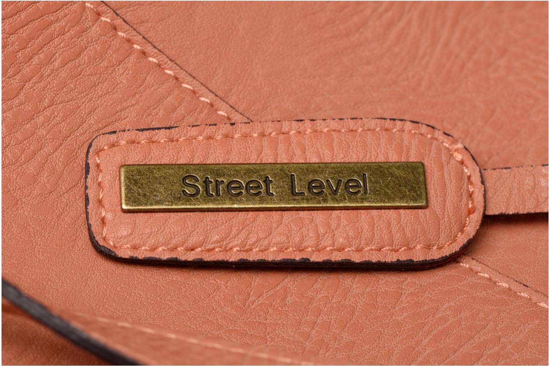 Handtaschen Street Level Tote with top zipper rosa ansicht von links