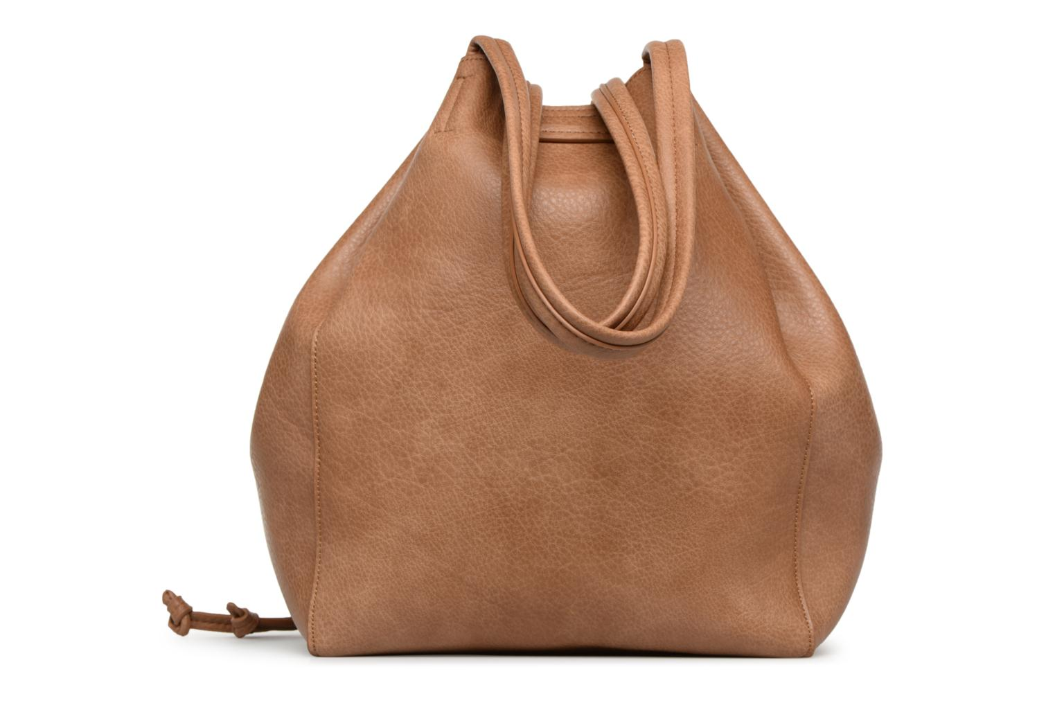 Sacs à main Street Level Tote with front tassel drawstring Marron vue face