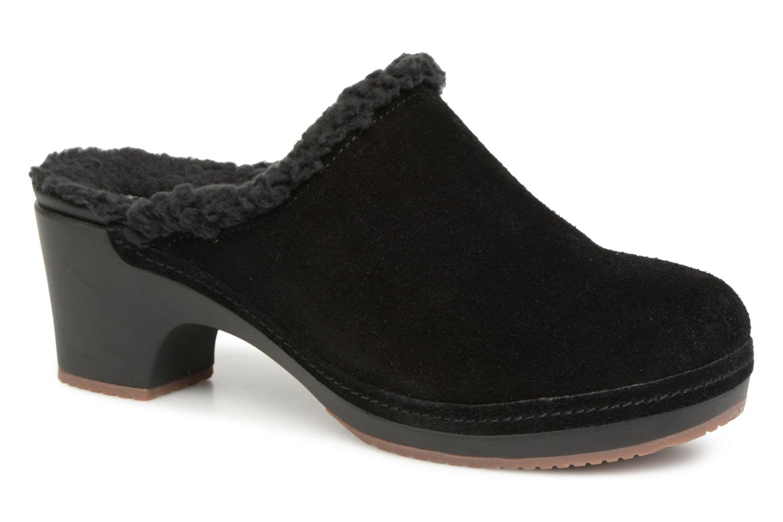 Los últimos zapatos de descuento para hombres y mujeres Crocs SarahLinedClog (Negro) - Zuecos en Más cómodo