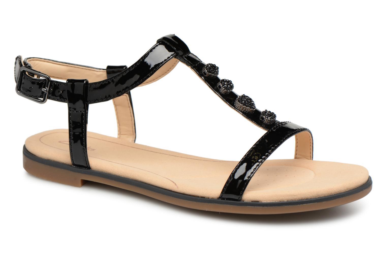 Descuento de la marca Clarks Bay Blossom (Negro) - Sandalias en Más cómodo