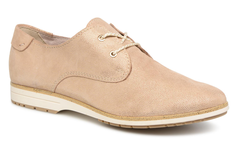 Zapatos promocionales Marco Tozzi 2-2-23617-20 412 (Oro y bronce) - Zapatos con cordones   Venta de liquidación de temporada
