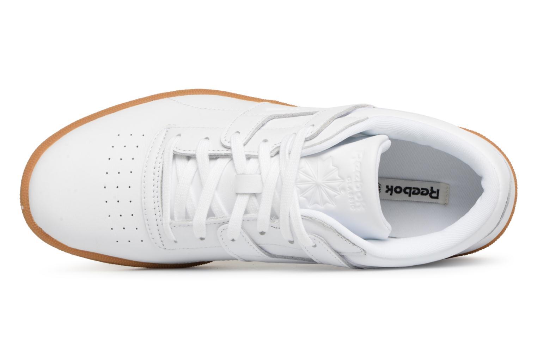 Sneaker Reebok Club Workout FMU weiß ansicht von links