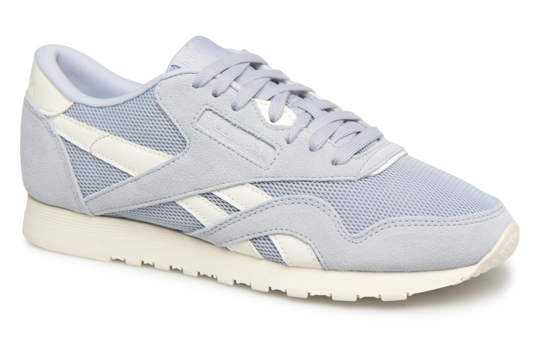Zapatos casuales salvajes Reebok Classic Nylon Mesh (Azul) - Deportivas en Más cómodo