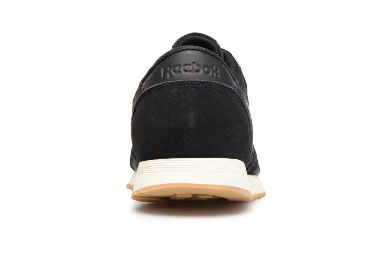 Sneaker Reebok Classic Nylon SG schwarz ansicht von rechts