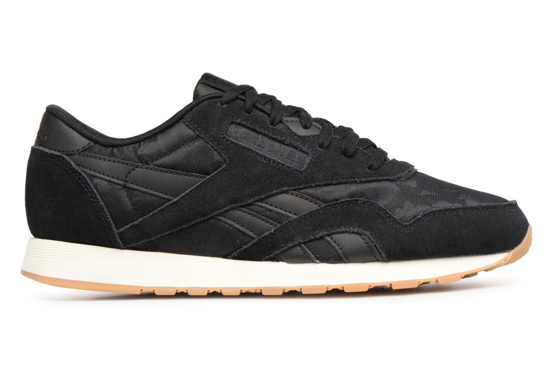 Sneaker Reebok Classic Nylon SG schwarz ansicht von hinten