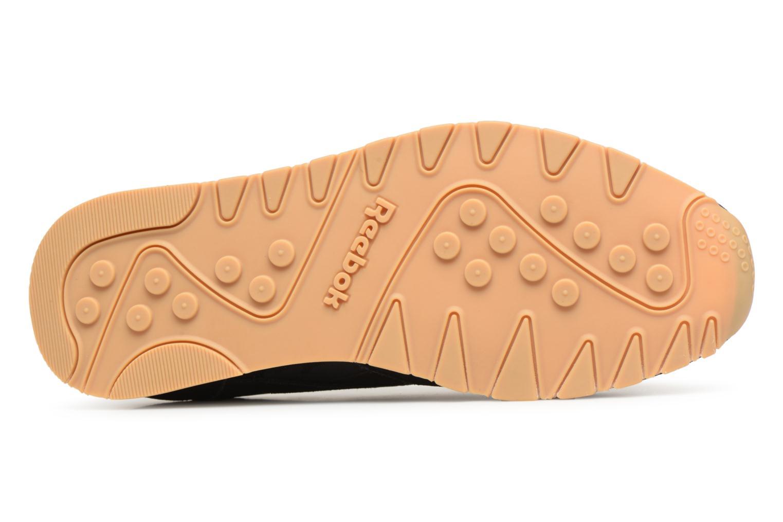 Sneaker Reebok Classic Nylon SG schwarz ansicht von oben