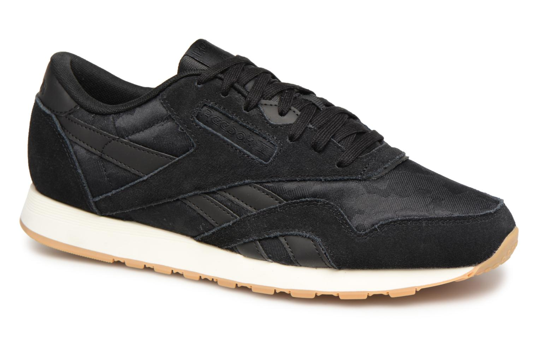 Sneaker Reebok Classic Nylon SG schwarz detaillierte ansicht/modell