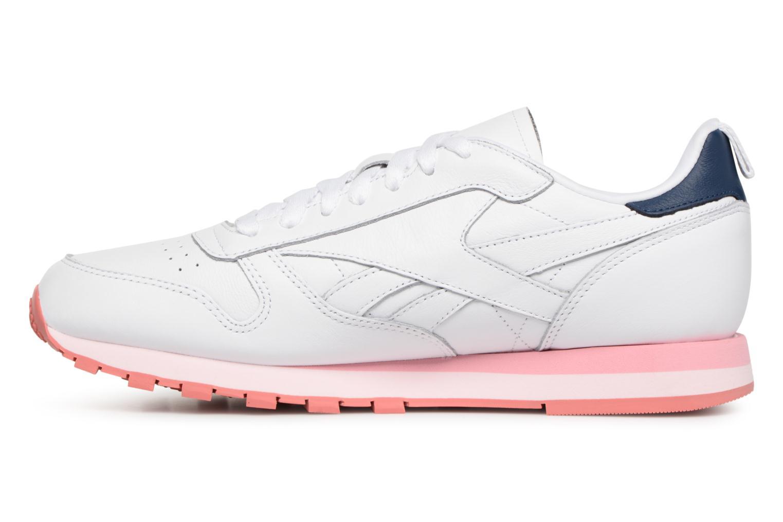 Sneaker Reebok Classic Leather Publish mehrfarbig ansicht von vorne