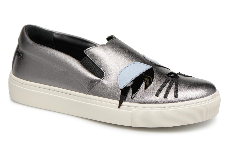 Zapatos promocionales Karl Lagerfeld Kupsole Choupette Lash (Plateado) - Deportivas   Cómodo y bien parecido