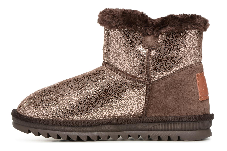 Bottines et boots Les Tropéziennes par M Belarbi Jaipur Or et bronze vue face