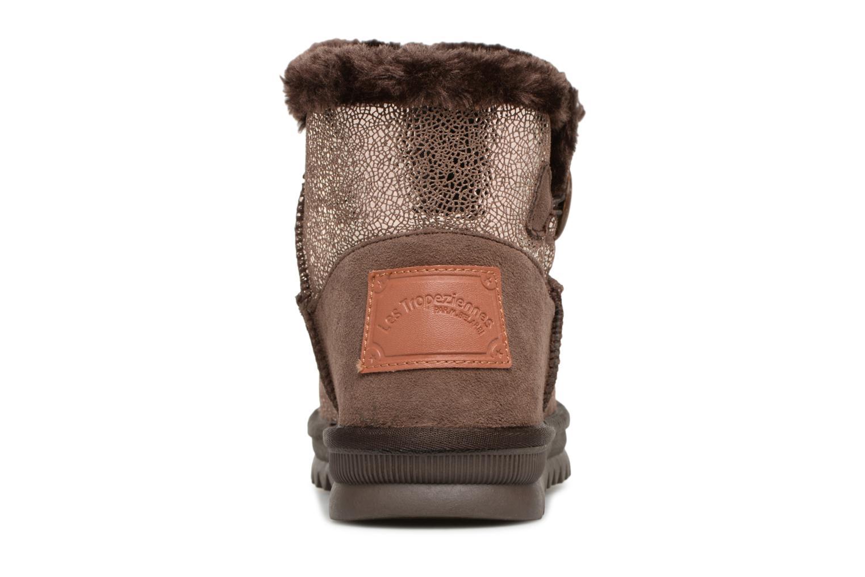 Bottines et boots Les Tropéziennes par M Belarbi Jaipur Or et bronze vue droite