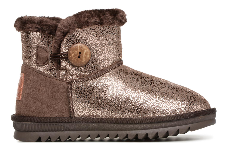 Bottines et boots Les Tropéziennes par M Belarbi Jaipur Or et bronze vue derrière