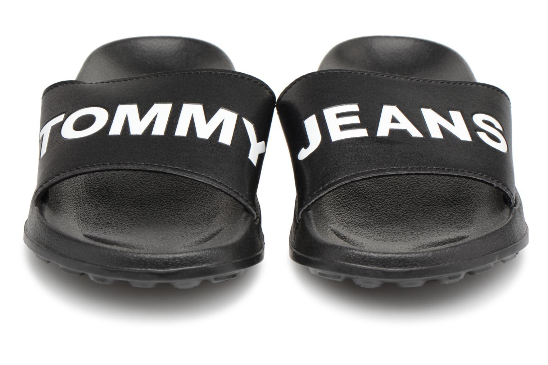 Sandalen Tommy Hilfiger Tommy Slide sandal Zwart model