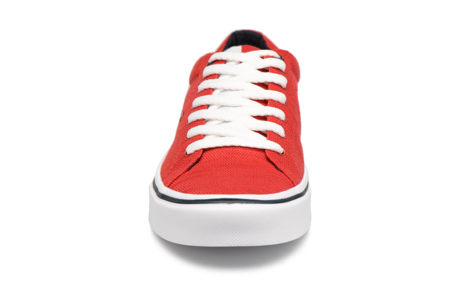 Baskets Tommy Hilfiger Sneakers Tango Red Rouge vue portées chaussures