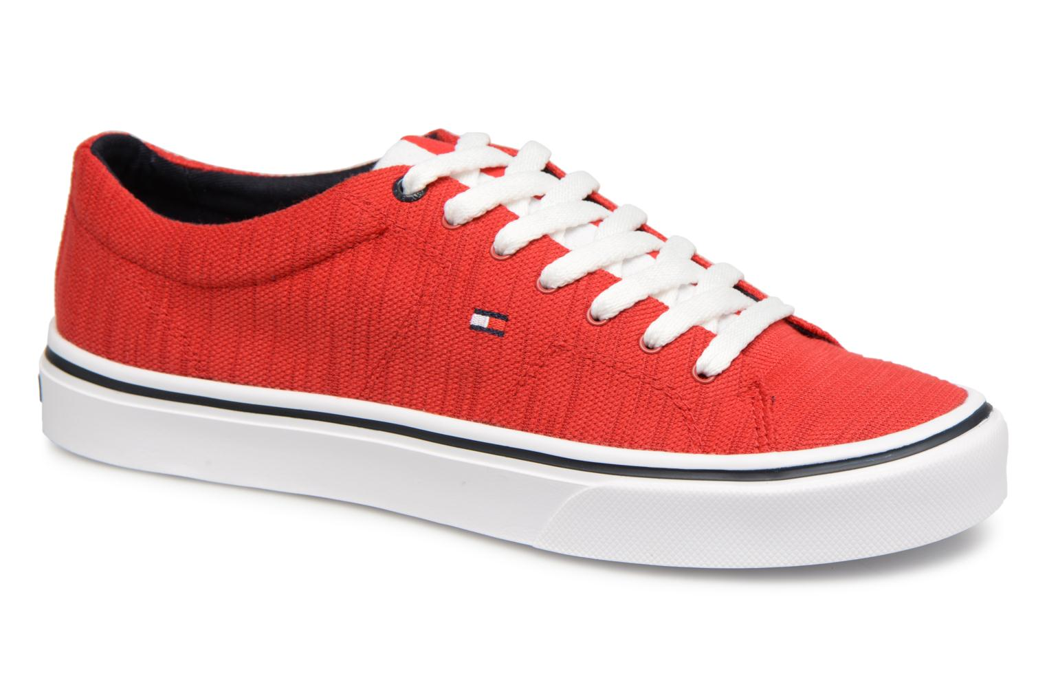 Baskets Tommy Hilfiger Sneakers Tango Red Rouge vue détail/paire