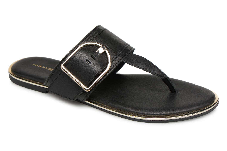 Zapatos promocionales Tommy Hilfiger Tong Black/Gold (Negro) - Zuecos   Los zapatos más populares para hombres y mujeres