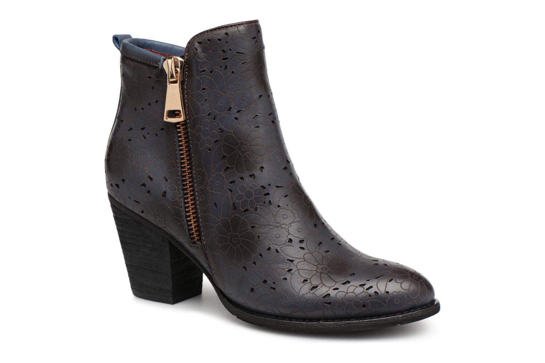 Zapatos casuales salvajes Laura Vita Camille 09 (Azul) - Botines  en Más cómodo