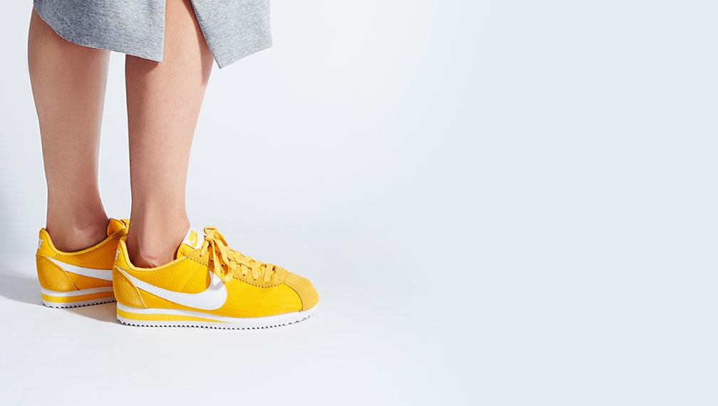 basket nike jaune femme