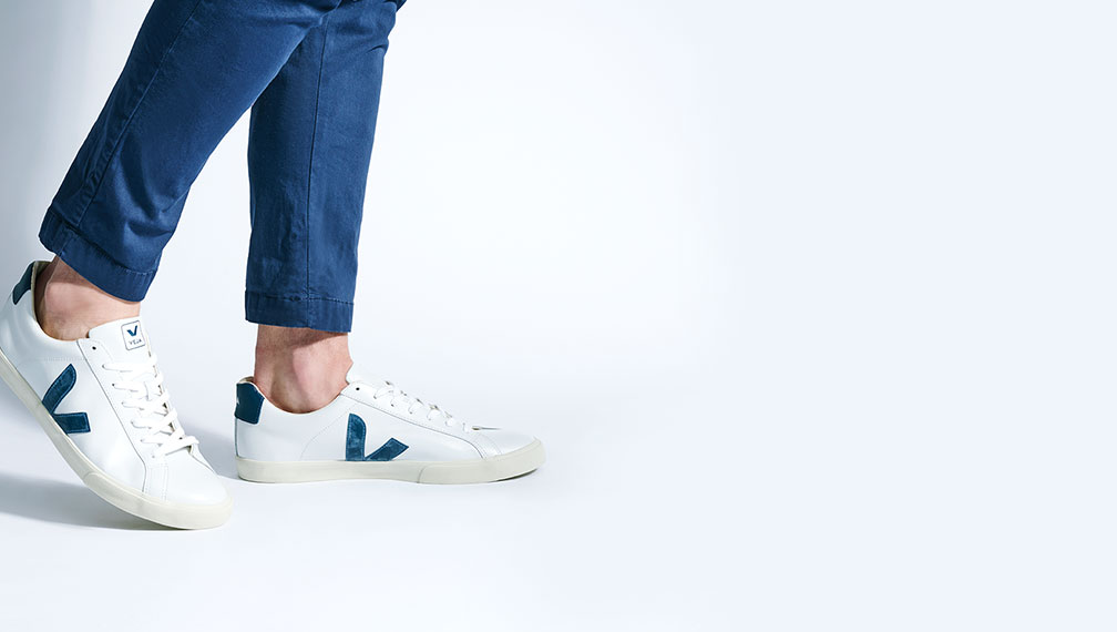 Esprit baskets blanches Stan Smith baskets Adidas Nike New Balance Lacoste Homme