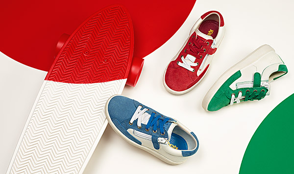 Baskets enfant Kickers