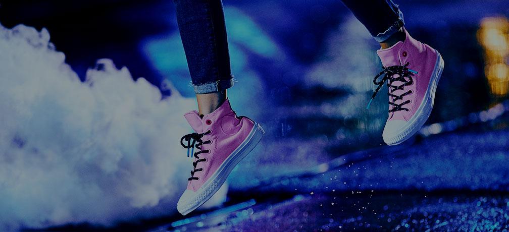 chaussures et sacs converse