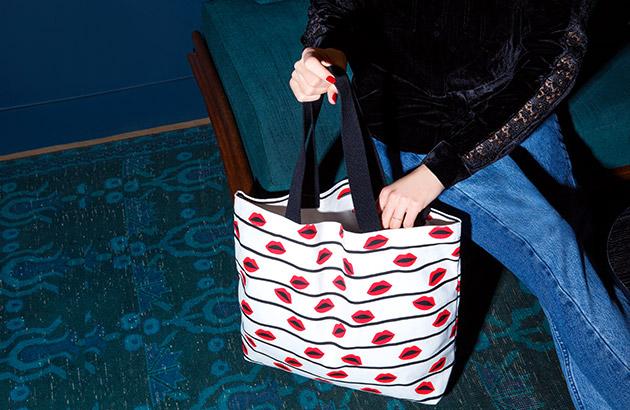 Dressing : Taschen print arty