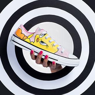 Sneakers Converse Looney TUnes