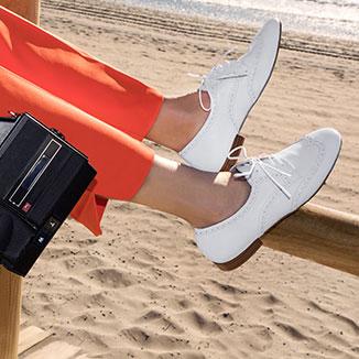 Zapatos con cordenes mujer