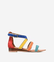Sandales colorées Femme