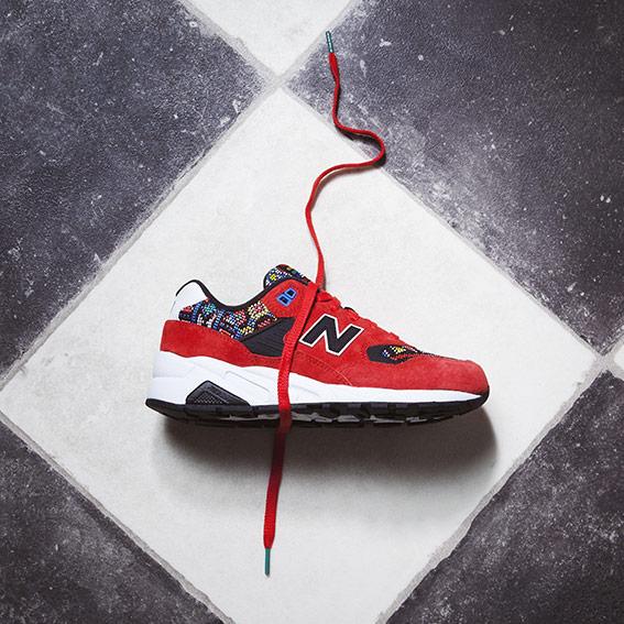 new balance rouge motif