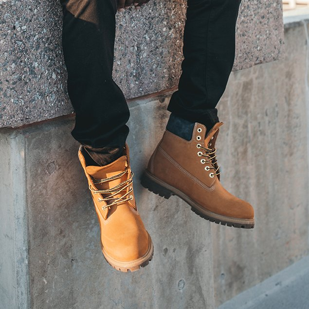 Collection Timberland Yellow Boots