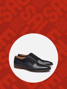 Sarenza schoenen en tassen voor heren in de sale