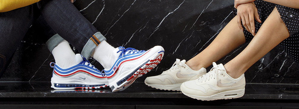 Page éditorale Nike Air Max