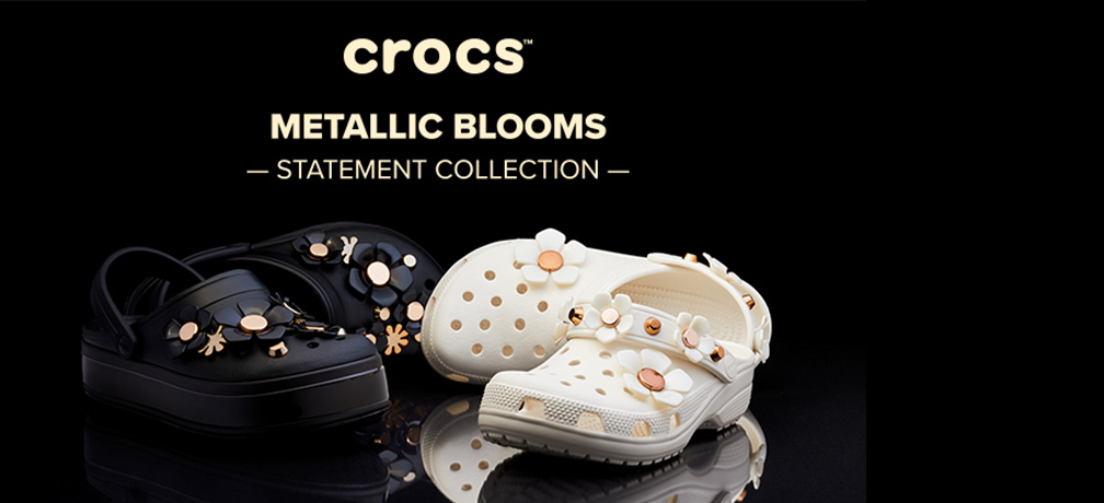Collection Metallic Blooms Crocs