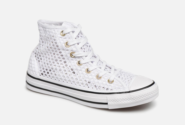 hot sale online 66bbf 72c86 Converse Chuck Taylor All Star Handmade Crochet Hi