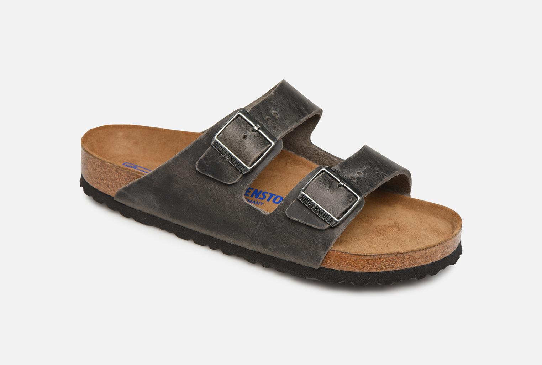 Birkenstock Arizona Cuir Soft Footbed M
