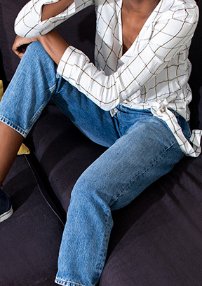 Vêtements : les jeans femme coup de coeur jusqu'à -60%