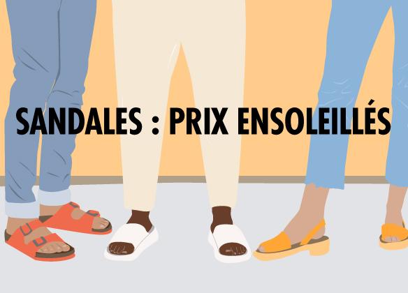Sandales jusqu'à -25%