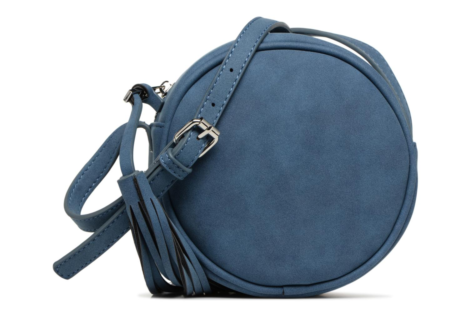 SUEDE OVAL BAG