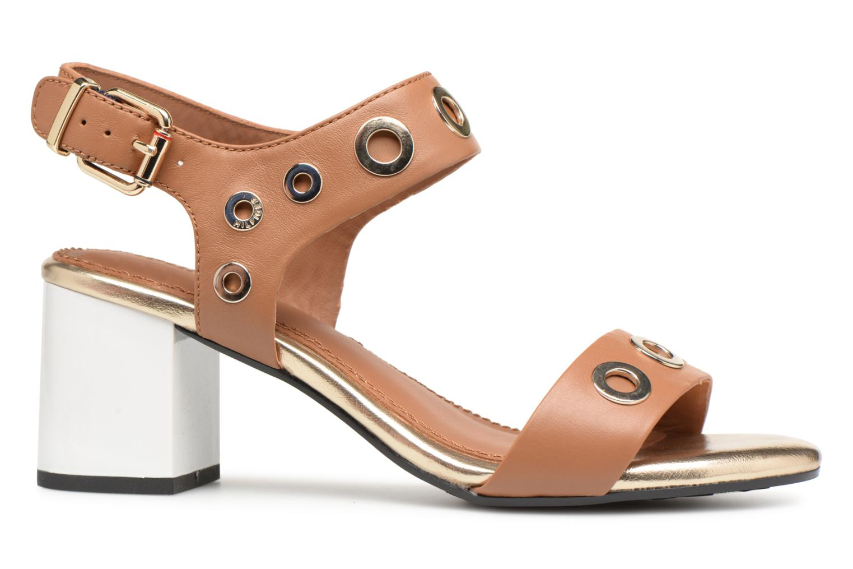 Sandales à talon Summer Cognac