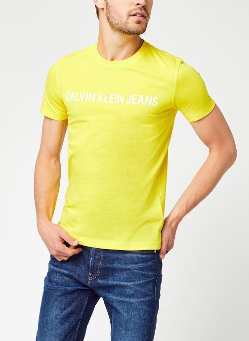 INSTITUTIONAL LOGO SLIM SS TEE par - Calvin Klein Jeans - Modalova