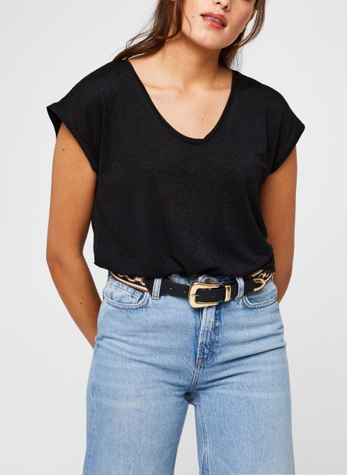 T-Shirt Pcbillo Tee Lurex Stripes Noos par - Pieces - Modalova