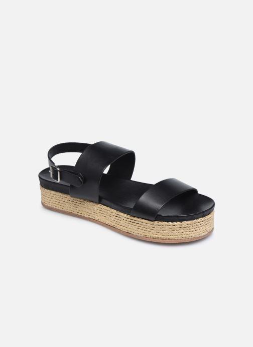 Artikel klicken und genauer betrachten! - Jonak-Sandalen für Damen verfügbar in Gr.. , Material: Leder, Farbe: schwarz, Stil: mit Schnallen Freizeit | im Online Shop kaufen