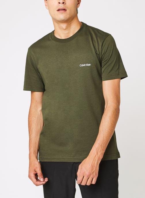 Cotton Chest Logo T-Shirt par - Calvin Klein - Modalova