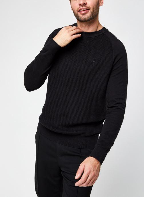Cotton Cashmere Blend Cn Sweater par - Calvin Klein Jeans - Modalova