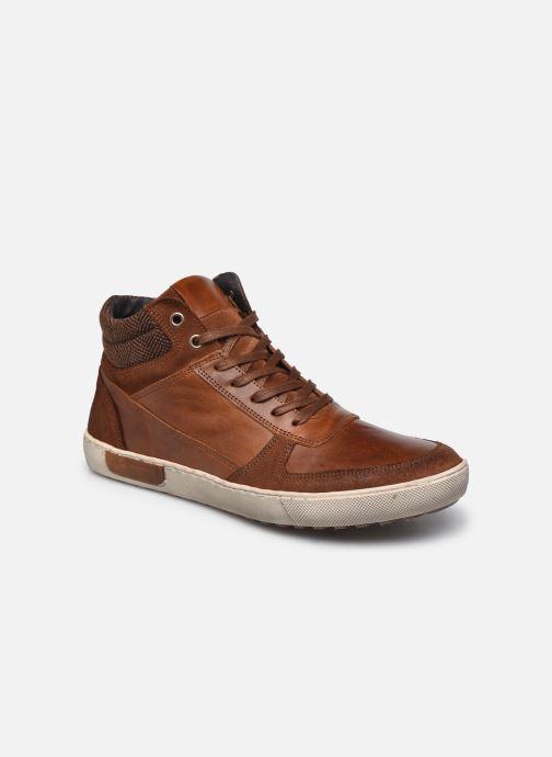 Artikel klicken und genauer betrachten! - Marvin&Co-Sneaker für Herren verfügbar in Gr.. , Material: Leder/Textil, Farbe: braun, Stil: mit Riemen Nachhaltig Freizeit | im Online Shop kaufen