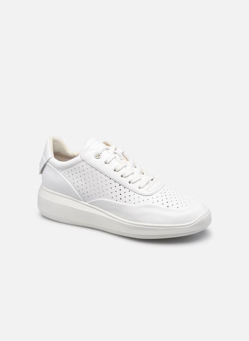 Artikel klicken und genauer betrachten! - Geox-Sneaker für Damen verfügbar in Gr.. , Material: Leder, Farbe: weiß, Stil: mit Riemen Nachhaltig Freizeit   Ledersneaker | im Online Shop kaufen