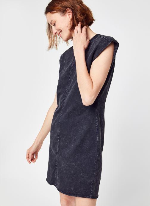 Nmalicia S/L Shoulderpad Dnm Dress Sp Bg par - Noisy May - Modalova