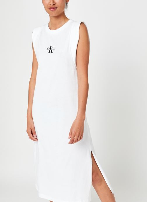 Knotted T-Shirt Dres par - Calvin Klein Jeans - Modalova